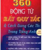 Ebook 360 động từ bất quy tắc và cách dùng các thì trong tiếng Anh: Phần 1  - Trần Minh Đức - TaiLieu.VN