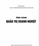 Giáo trình Quản trị doanh nghiệp: Phần 1 - PGS.TS. Lê Kim Thanh, PGS.TS. Lê Văn Tâm (đồng chủ biên)