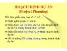 Bài giảng Quản trị dự án: Chương 5 - ThS. Phan Thị Thu Hương