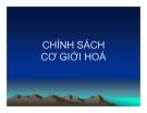 Bài giảng Phân tích chính sách nông nghiệp & phát triển nông thôn: Chương 8 - TS. Nguyễn Văn Sanh