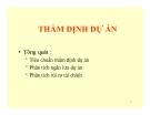 Bài giảng Quản trị dự án: Chương 2 - ThS. Phan Thị Thu Hương