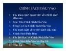 Bài giảng Phân tích chính sách nông nghiệp & phát triển nông thôn: Chương 5 - TS. Nguyễn Văn Sanh