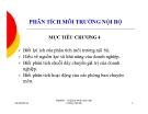 Bài giảng Quản trị chiến lược: Chương 4 - Nguyễn Đình Hòa