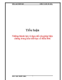 Tiểu luận triết học: Những thành tựu và hạn chế của phép biện chứng trong nền triết học cổ điển Đức