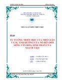 Tiểu luận triết học: Tư tưởng triết học của Nho giáo và sự ảnh hưởng của nó đến đời sống văn hóa tinh thần của người Việt
