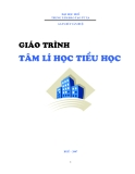Giáo trình Tâm lý học Tiểu học: Phần 1 - GS.TS Bùi Văn Huệ