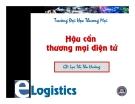 Bài giảng Hậu cần thương mại điện tử: Chương mở đầu - GV. Lục Thị Thu Hường