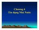 Bài giảng Tài chính công: Chương 4 - Ths. Vũ Xuân Thủy