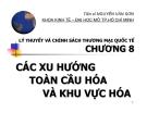 Bài giảng Lý thuyết và chính sách thương mại quốc tế: Chương 8 - TS. Nguyễn Văn Sơn