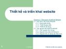 Bài giảng Thiết kế và triển khai website: Chương 2 - GV. Bùi Quang Trường