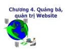 Bài giảng Thiết kế và triển khai website: Chương 4 - GV. Bùi Quang Trường