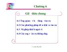 Bài giảng Cấu trúc máy tính: Chương 6