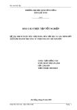 Báo cáo thực tập tốt nghiệp: Hạch toán tiêu thụ hàng hóa nội địa và xác định kết quả kinh doanh tại Công ty TNHH TM&DV Cựu Kim Sơn