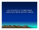 Bài giảng Các nguyên lý và biện pháp kiểm soát bệnh truyền nhiễm - PGS. TS. Đoàn Huy Hậu