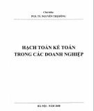 Giáo trình Hạch toán kế toán trong các doanh nghiệp: Phần 2 - PGS.TS. Nguyễn Thị Đông