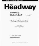 New headway Elementary Student's Book: Phần 1 - Liz,  John Soars, Sylvia Wheeldon
