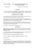Quyết định 8891/QĐ-BCT năm 2013