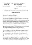 Quyết định 28/2013/QĐ-UBND tỉnh Đắk Lắk