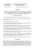 Quyết định 36/2013/QĐ-UBND bổ sung Quyết định 17/2013/QĐ-UBND