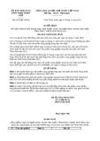 Quyết định 2516/QĐ-UBND năm 2013