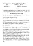 Quyết định số 3495/QĐ-BGTVT năm 2013