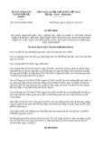 Quyết định 2261/2013/QĐ-UBND