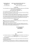 Quyết định 3630/QĐ-UBND năm 2013