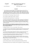 Nghị định Số: 170/2013/NĐ-CP