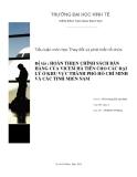 Tiểu luận Thay đổi và phát triển tổ chức: Hoàn thiện chính sách bán hàng của Vicem Hà Tiên cho các đại lý ở khu vực thành phố Hồ Chí Minh và các tỉnh miền Nam