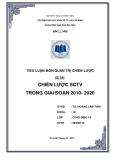 Tiểu luận môn quản trị chiến lược: Chiến lược SCTV trong giai đoạn 2010 - 2020