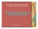 Chương trình PCMD giai đoạn 2011-2015 và kế hoạch hoạt động năm 2011 về phòng, chống mại dâm và HIV
