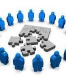 Tiểu luận: Môi trường tác động vào tổ chức