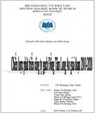 Chuyên đề môn Quản trị chiến lược: Chiến lược phát triển công ty gạch Đồng Tâm Long An giai đoạn 2010 - 2020