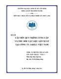 Tiểu luận: Cải tiến quy trình cung cấp và thu hồi vật liệu sản xuất tại công ty Jabill Việt Nam