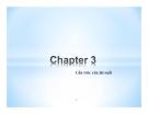 Bài giảng Thị trường tài chính - Chương 3: Cấu trúc của lãi suất