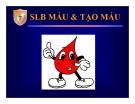 Bài giảng Sinh lý máu và tạo máu