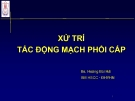 Bài giảng Xử lý tắc động mạch phổi cấp - BS. Hoàng Bùi Hải