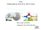 Bài thuyết trình Quản trị rủi ro: Rủi ro về pháp lý của HSBC New York