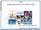 Bài thuyết trình Quản trị xuất nhập khẩu: Tìm hiểu bộ chứng từ trong kinh doanh xuất khẩu