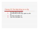 Bài giảng Phương pháp nghiên cứu: Chương 3 - Nguyễn Hùng Phong