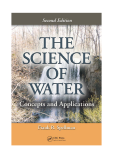 Ebook The science of water Concepts and Applications
