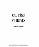 Ebook Cao Tăng kỳ truyện: Phần 2 - Thanh Hà