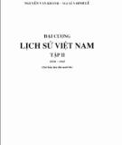Đại cương lịch sử Việt Nam - Tập 2: Phần 1 - Đinh Xuân Lâm (chủ biên)