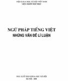 Những vấn đề lí luận về Ngữ pháp tiếng Việt: Phần 1