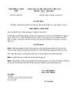 Quyết định 2271/QĐ-TTg năm 2013