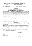 Quyết định 3991/QĐ-BVHTTDL năm 2013