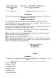 Quyết định 2317/QĐ-UBND năm 2013