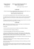 Quyết định 959/QĐ-UBND năm 2013