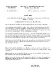 Quyết định 2020/QĐ-UBND năm 2013 tỉnh Bến Tre