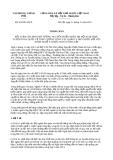 Thông báo 416/TB-VPCP năm 2013